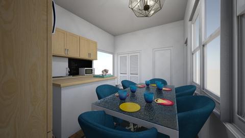 New Kitchen w bthrm 1 - Kitchen - by Kmstyles84