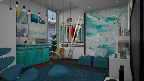 surf room - by patriicia popa
