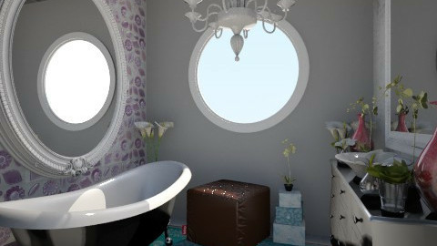 Nakagi Capsule Room 2 - Glamour - Bathroom - by BriaFaith