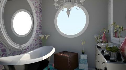 Nakagi Capsule Room 2 - Glamour - Bathroom - by BriaFaith