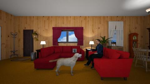Pike Home - Living room - by WestVirginiaRebel