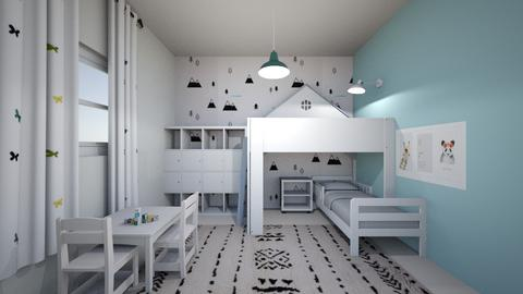 1827 - Kids room - by Goni_Agmon