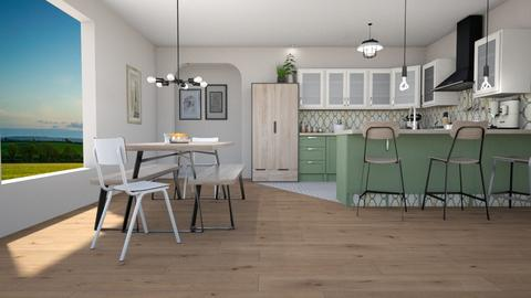 Remix - Country - Kitchen - by lilybluez