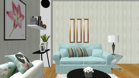 Entertainment Room 01 - Minimal - Living room - by DMLights-user-1334755
