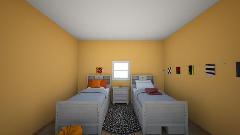 Our Room 8_24_18 - Bedroom - by Beetle0212