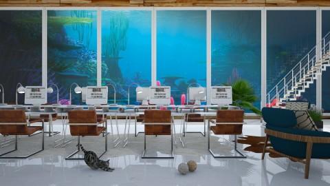 Underwater office - Modern - Office - by bgref