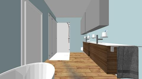 Master Bath - Bathroom - by hanastasio