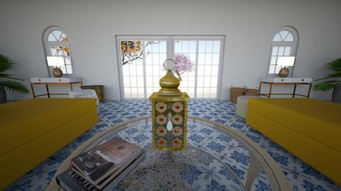 Close up lantern - Living room - by Orange Blossom Interiors