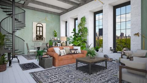 Plants - Living room - by Lizzy0715