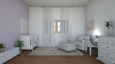 babies bedroom - by Alayna the designer