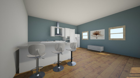 Simple Kitchennn - Kitchen - by esmeepoelman
