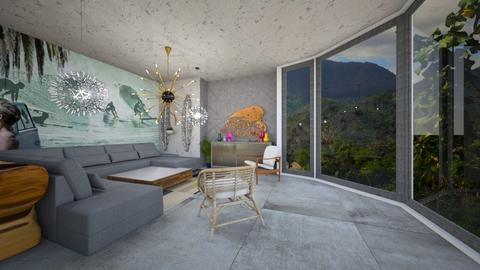 bnb - Living room - by yulamalina