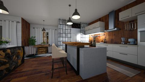 Cozinha - Global - by nanabpf