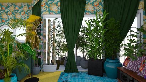 urban jungle studio 1 - by Moriia