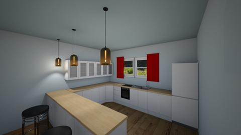 Cardinal 1 - Kitchen - by Cardinal14