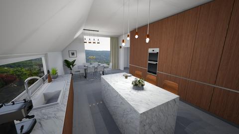 kitchen - Modern - Kitchen - by Eszter Potor