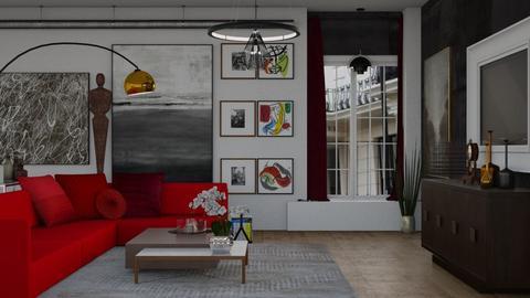 Londra - Living room - by zarky