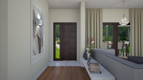Marilena Anca home office - Office - by Flori Santa