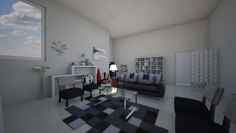 depa0 - Living room - by Anghela Cruz