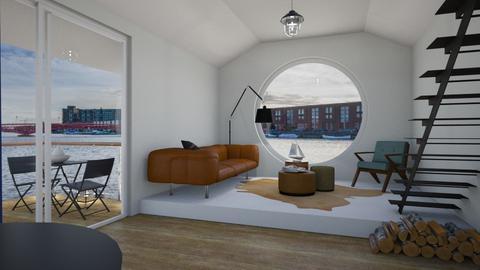 woonboot Amsterdam - by mariecap