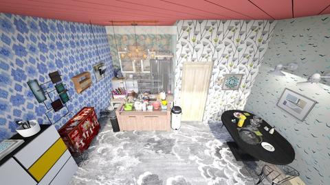 Shabby chic kitchen - Kitchen - by Troy99