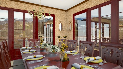 Dining Room 02 - Classic - Dining room - by LadyVegas08