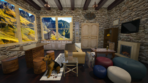 country1 - Country - Living room - by Violeta Sordo