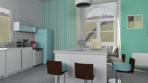 Modern kitchen - Modern - Kitchen - by Sotiria Oups