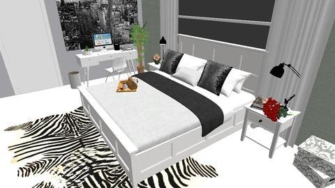 HABITACION PRINCIPAL - Vintage - Bedroom - by lizvelasquezz