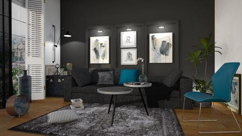Dark Ocean - Modern - Living room - by Chad_dp