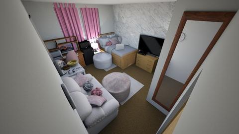 single usc dorm - Bedroom - by diorrnicholson812