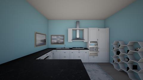 sea blue  - Vintage - Kitchen - by brooklyn128