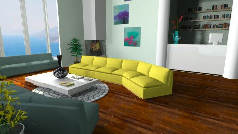 Waiting room - Living room - by teen bedroom