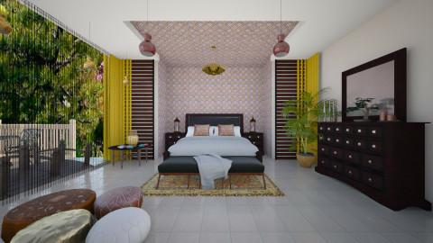 Rustic - Rustic - Bedroom - by Sali15