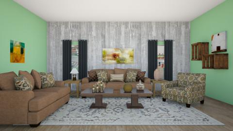 Rustic - Rustic - Living room - by zellowiz
