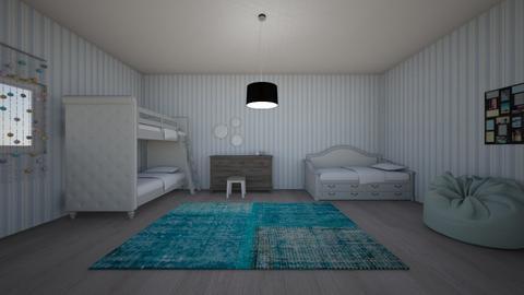 Kids Bedroom  - Modern - Bedroom - by ChewieIsMyDog