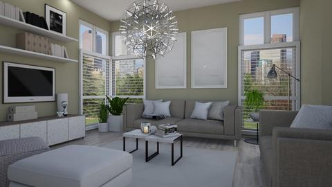 IP Terrazzo - Living room - by Tuija