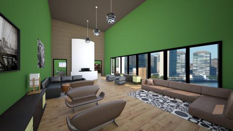 Office reception - Modern - Office - by janelle1