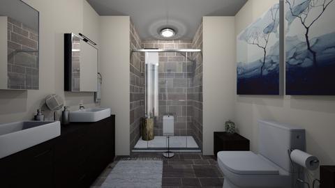 katies bathroom - Rustic - Bathroom - by kat1016