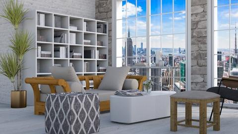 Whitewashed - Modern - Living room - by millerfam