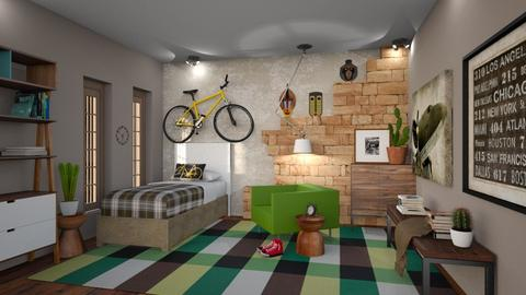 XADREZ - Bedroom - by Alecio