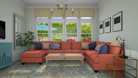 Family Room - Living room - by lauren_murphy