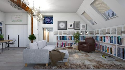 scandinavian - Living room - by penelopy