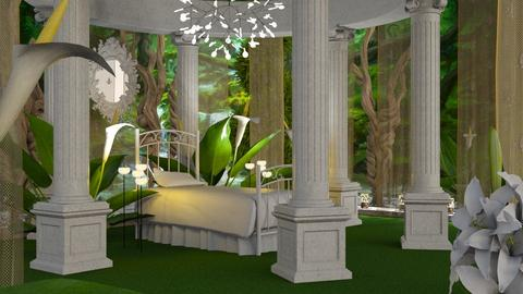 Thumbelina Bedroom - Bedroom - by GraceKathryn