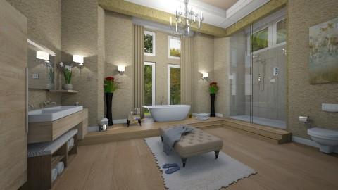 Grande banheiro luxo - by Roberta Coelho