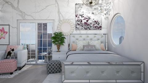 Modern Bedroom - by unicornmystic5204