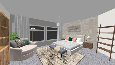 Doshi Living Room V2 - Living room - by louisdhe