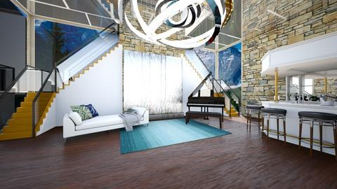 Resort Lounge Foyer - Glamour - by rlav2
