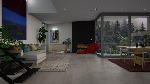 Frey Living Final - Living room - by dwark