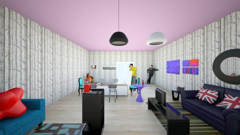 live a life man - Living room - by balbuenanathally